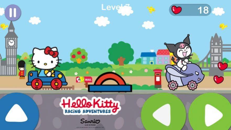 凯蒂猫飞行冒险无限爱心去广告破解版  v1.0.3图2