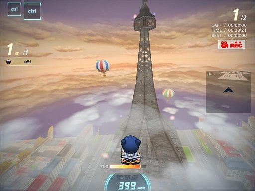 跑跑卡丁车手游巴黎铁塔的宝藏位置在哪里?宝箱具体地点一览[多图]图片2