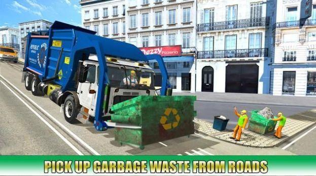 垃圾运输车驾驶模拟器游戏安卓版  v0.2图4