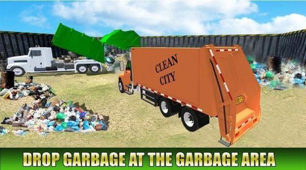 垃圾运输车驾驶模拟器游戏安卓版  v0.2图2