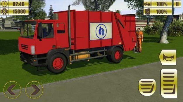 垃圾运输车驾驶模拟器游戏安卓版  v0.2图3