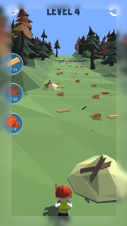 手推车比赛3d游戏安卓版  v1.0图4