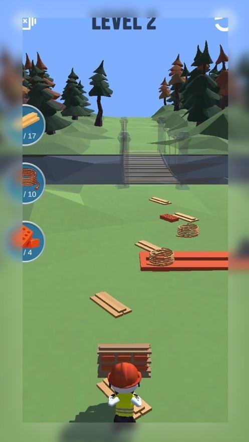 手推车比赛3d游戏安卓版  v1.0图1