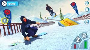 滑雪板滑雪比赛2020游戏图1