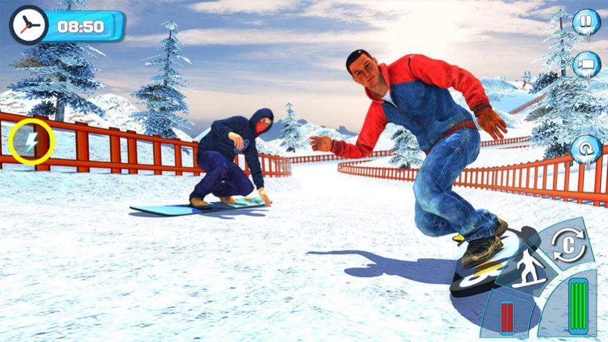 滑雪板滑雪比赛2020游戏安卓版  v1.0图4
