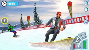 滑雪板滑雪比赛2020游戏图3