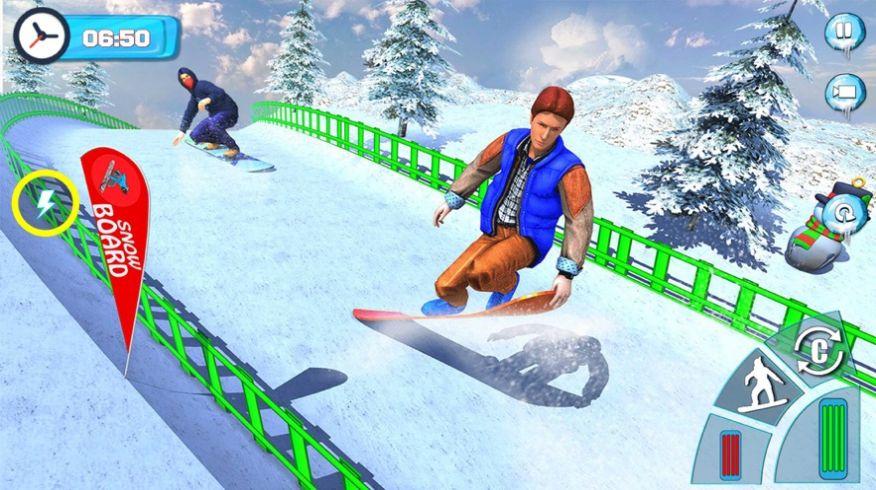滑雪板滑雪比赛2020游戏安卓版  v1.0图5