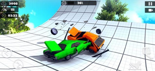 专业撞车挑战赛游戏安卓版  v1.0图1