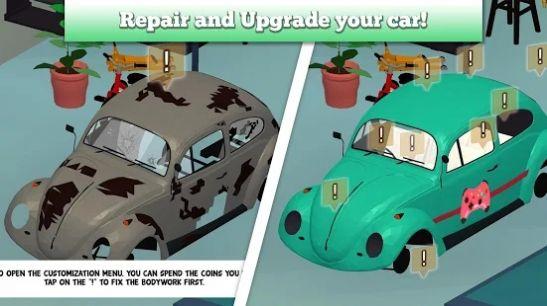 汽车女孩车库游戏安卓版  v1.0图2