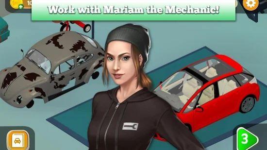 汽车女孩车库游戏安卓版  v1.0图3